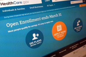 Open Enrollment Screen