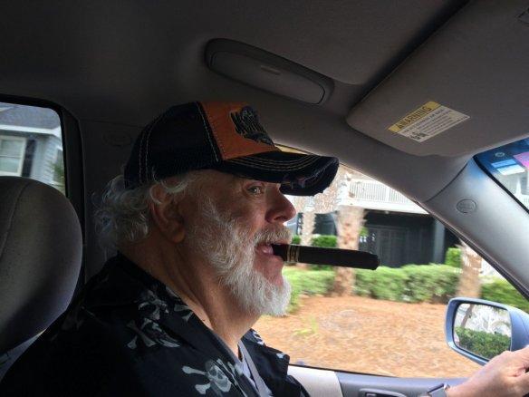 Schmalfeldt driving selfie